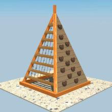 Пирамидка для лазанья
