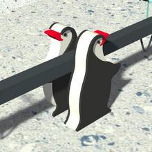 Качели-балансир «Пингвины»