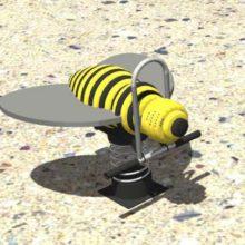 Качалка на пружине «Пчелка»