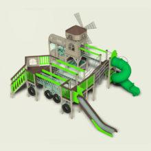 Детский игровой комплекс c мельницей