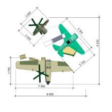 Детский игровой комплекс «Воздушный бой»
