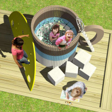 Детский игровой комплекс «Кофе и сыр»