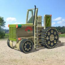 Детская игровая площадка «Трактор»