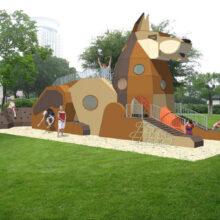 Детская игровая площадка «Мухтар»