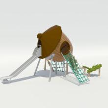 Детский игровой комплекс «Жёлудь»