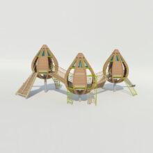 Детский игровой комплекс «Бутоны»