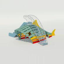 Детский игровой комплекс «Рыбка»