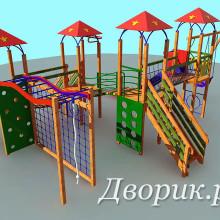 Детский игровой комплекс (мод.14205)