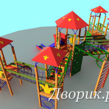 Детский игровой комплекс (мод.15201)