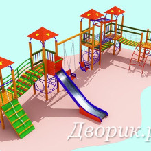 Детский игровой комплекс (мод.15202)