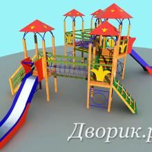 Детский игровой комплекс (мод.15203)