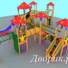 Детский игровой комплекс (мод.16201)