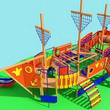 Детский игровой комплекс (мод.16205)