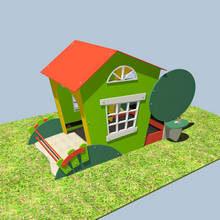 Песочницы и игровые домики