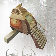 Домик на дереве «Птица»