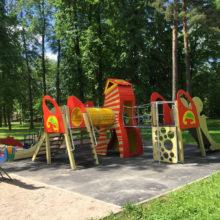 Детская площадка «Петрушка» нашла своё место