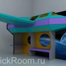 Детская комната «Космический корабль»