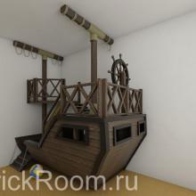 Детская комната «Летучий голландец»