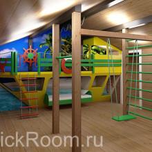 Детская комната «Голубая лагуна»