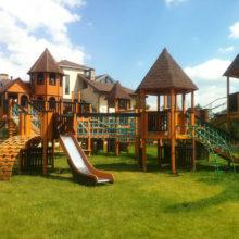 Детский игровой комплекс к/п Альпийская деревня, Воскресенское-Ямонтово