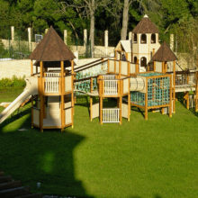 Детская площадка в частном доме. КП «Антоновка»