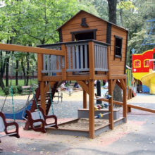 Детская площадка (мод.21119). Бабушкинский сад культуры и отдыха