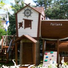 Детский игровой комплекс (мод.21108) «Dream Ship». Частный дом. Барвиха