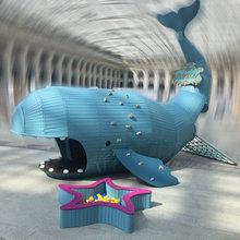 Детский игровой комплекс «Кашалот» от Дворик.ру — картинки с выставки