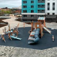 Детский игровой комплекс в Евпатории (проспект Ленина, д.66)