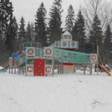 Детский игровой комплекс (мод.30002) в городском парке г.Краснознаменск