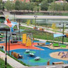 Детская игровая площадка. Набережная. Лениногорск (Татарстан)