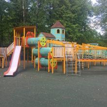 Комплекс детских игровых площадок. ДОЛ «Литвиново».