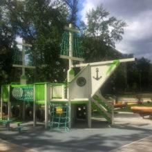 Детская площадка в ЖК «Марьина Роща»