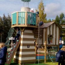 Городской парк г.Менделеевск (РТ), детская площадка мод.30028 «Порт»