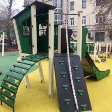Детская игровая площадка Baby Apple (мод. 11101). Москва, ул.Кооперативная