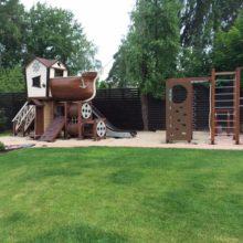 Детский игровой комплекс в г.Пушкино, мкр.Клязьма, коттеджный поселок