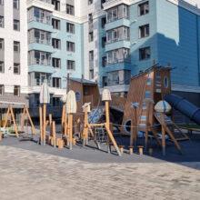 Детский игровой комплекс в Севастополе (ул. Токарева, д.18г)