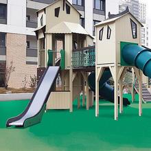 Детский игровой комплекс арт.30080, ЖК Сиреневый парк на Тагильской улице (г.Москва)