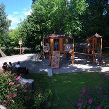 Парк Сокольники. Детская площадка