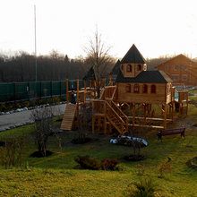 Дом отдыха (г.Старая Русса) детский игровой комплекс 30005