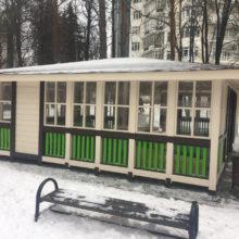 Москва, ул. Староволынская, д.12. Павильон