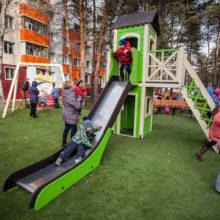 Детские площадки Baby Apple в г. Сургут
