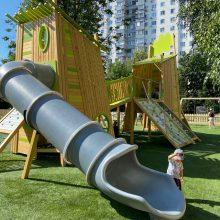 Детская игровая площадка 30098 установлена по адресу ул. Мусы Джалиля, 26